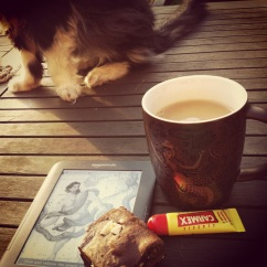 Day 25: Life is {full of cats, chocolate, tea and books}