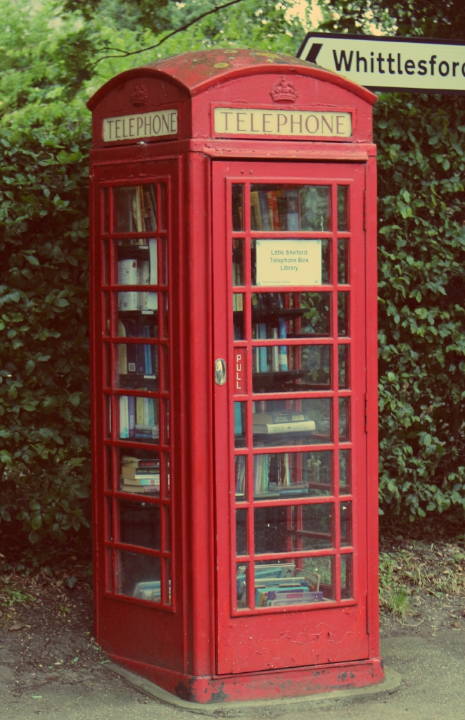 Little Shelford Telephone Box