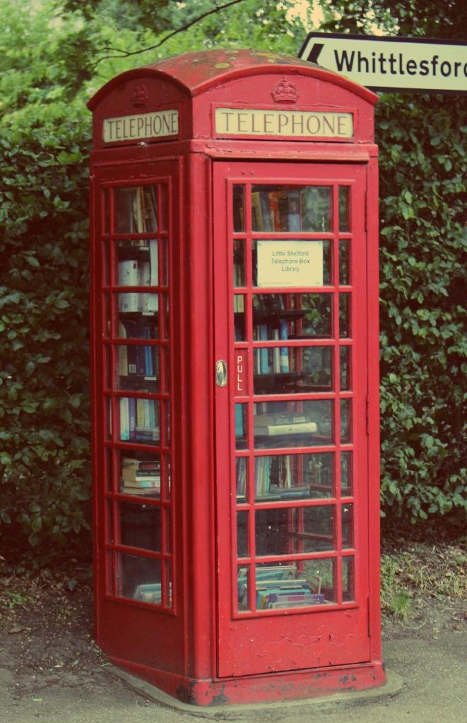 Little Shelford Telephone Box
