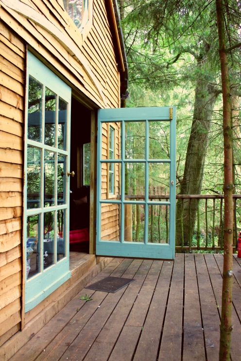 Treehouse door 2