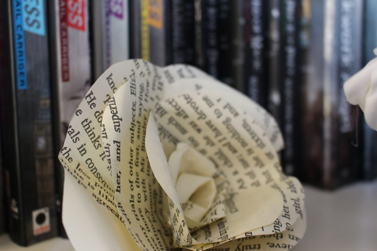 Bookshelf Flower