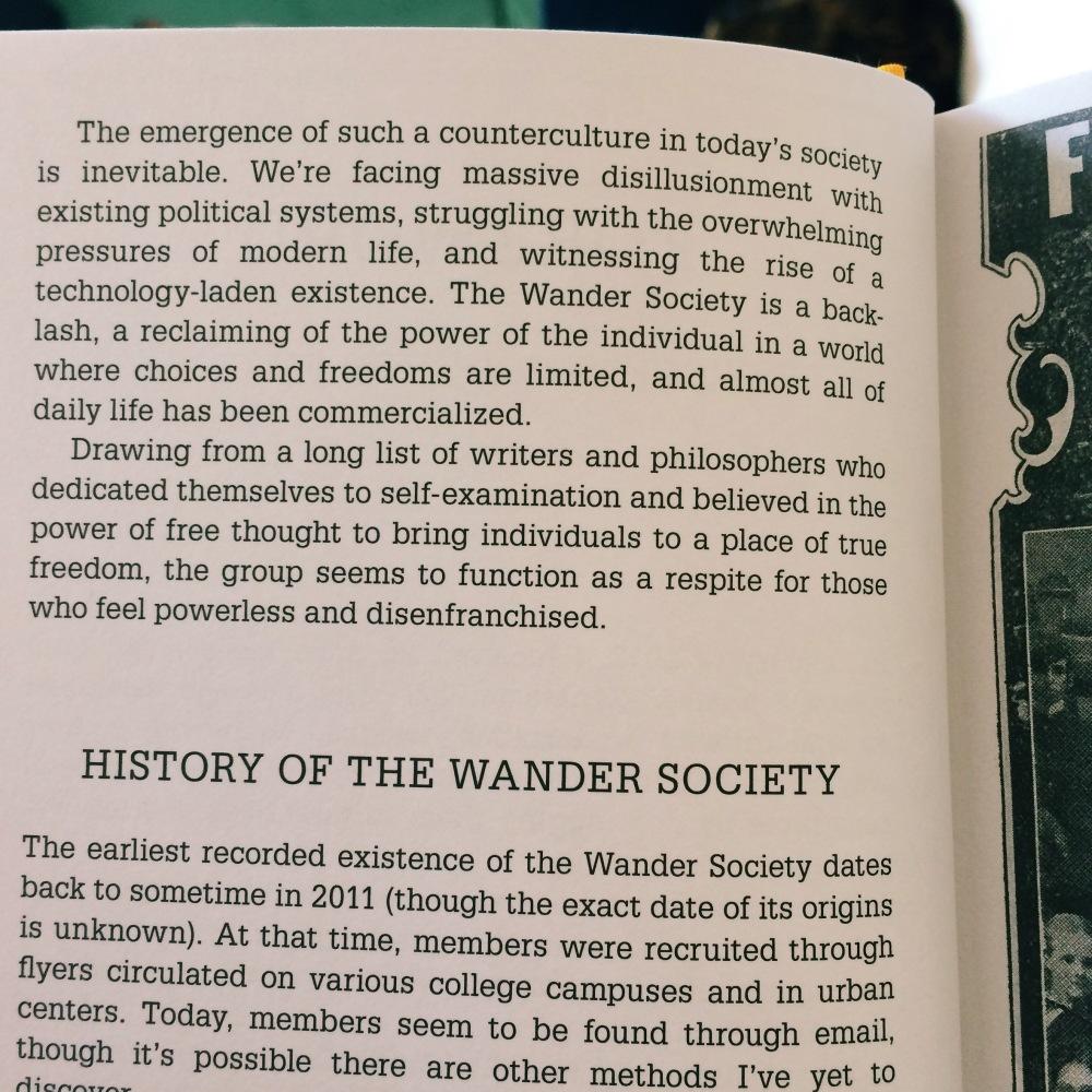 Wander Society 4
