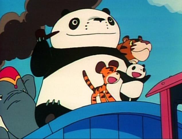 Panda Train